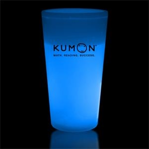 Blue 16 oz. Light Up Glow Cup