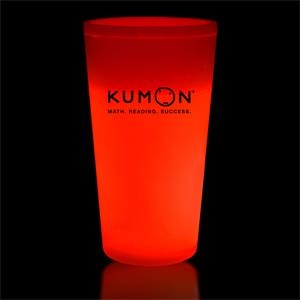Red 16 oz. Light Up Glow Cup