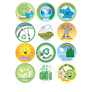 Recycling & Environment - Removable Sticker Fun