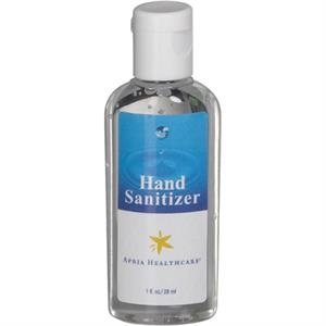 Z Collection (r) - 1 Oz Clear Sanitizer In Oval Bottle