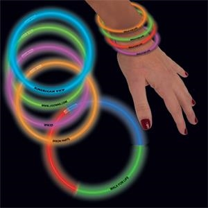 "Variety Pack 8"" Single Color Superior Glow Bracelet"