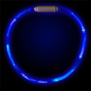 "Blue 27"" Led Light-up Necklace"