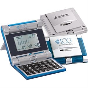 Robot Series (r) Evolution - Combination Digital Lcd Alarm, World-time Clock And Calendar/calculator