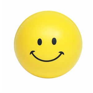 Squeezies (r) - Smiley Face Design Stress Reliever Ball