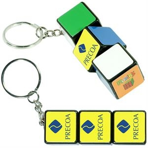 Rubik's (R) Key Ring