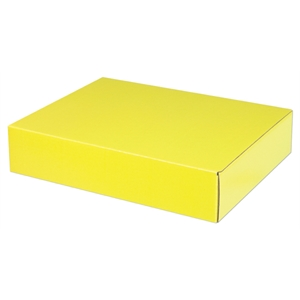"No Imprint - Recyclable E-flute Box, 9 3/8"" X 7"" X 2"""