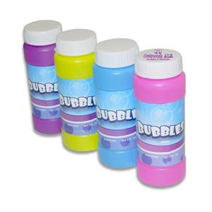 1 Oz. Sports Bubble Bottles In Assorted Colors