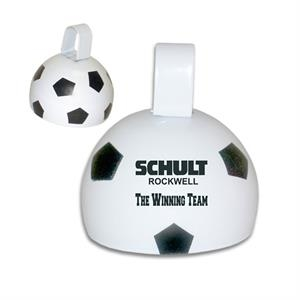 "Large 4"" Metal Soccer Ball Bell"