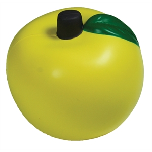 Squeezies (r) - Gold - Apple Shaped Stress Reliever