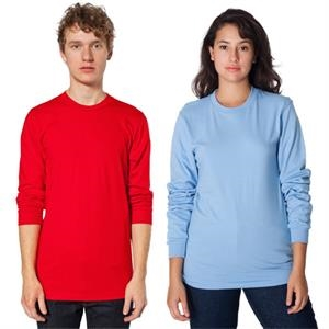 2 X L-colors - Long Sleeve Fine Jersey T-shirt. Blank