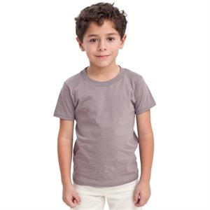 Colors - Organic Kids Fine Jersey Short Sleeve T-shirt. Blank