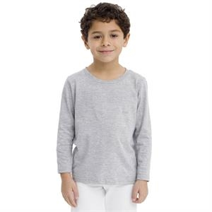 Colors - Kids Fine Jersey Long Sleeve T-shirt. Blank