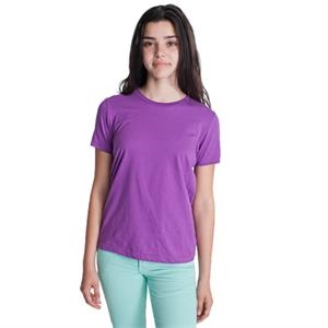 Colors - Organic Youth Fine Jersey Short Sleeve T-shirt. Blank