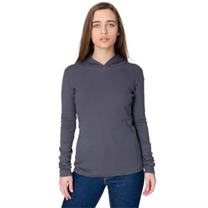 S- X L-colors - Ladies' Baby Rib Long Sleeve Hoody. Blank