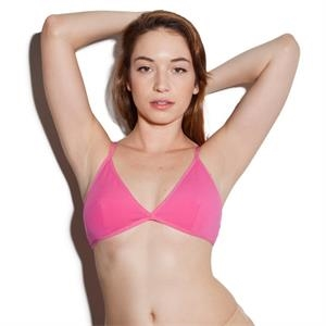 Cotton Spandex Jersey Cross-back Bra. Blank