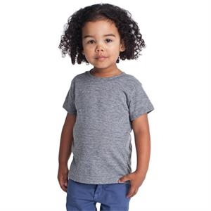 Kids Tri-blend Short Sleeve T-shirt. Blank