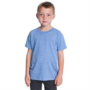 Youth Tri-blend Short Sleeve T-shirt. Blank