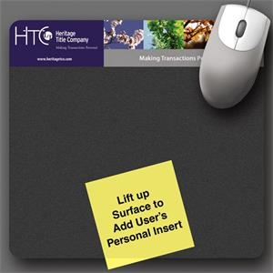 "Frame-it Lift (r) Duratec (r) - 7.5""x8""x1/8""-duratec® - Lift-top Mouse Pad-5-day; Rush: 2 Or 3-day"