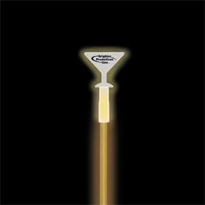 Martini Glass Glow Swizzle Stick Topper