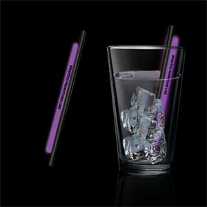 "Purple 5"" Glow Straw,"