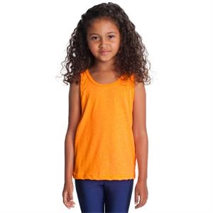 Kids Poly-cotton Tank. Blank