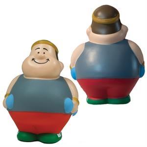 Squeezies® Fitness Bert™ Stress Reliever