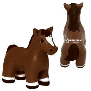 Squeezies (r) - Horse Shape Stress Reliever With Sound