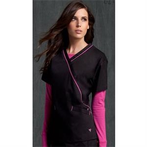Med Couture - Crossover Top - 6 Colors Available