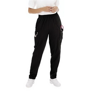 Landau - Sa8501 Landau Women's Cargo Elastic Waist Pant - 12 Colors Available