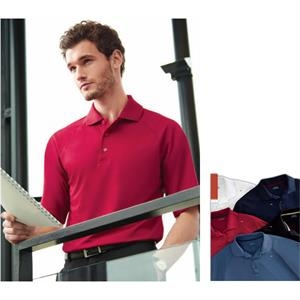 Extreme Eperformance (tm) - S- X L - Men's Polyester Pique Polo With Matching Flat Knit Collar