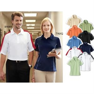 Extreme Eperformance (tm) - S- X L - Men's Pique Color-block Polo Shirt With Self-fabric Collar