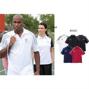 Extreme Edry (r) - 2 X L - Men's Color-block Polo With Side Slits