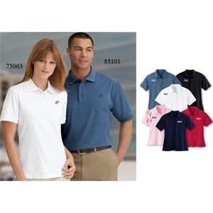 Extreme Edry (r) - S- X L - Men's Double Knit Polo With Cotton Blend Double Knit Fabric
