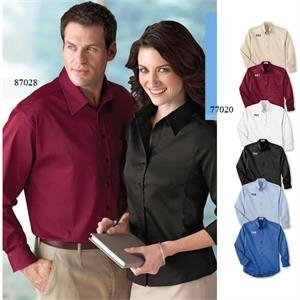 Il Migliore (r) - 3 X L - Ladies' Solid Stretch Shirt With Open Collar With Five-button Placket