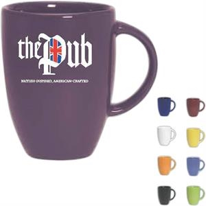 Europe - Purple - Ceramic Mug, 12 Oz