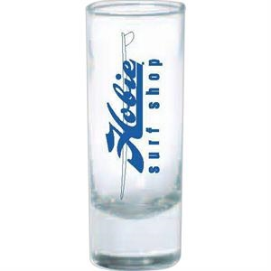 Two Ounce Clear Glass Shooter