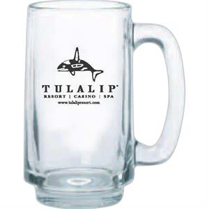 Clear Glass Stein, 12 1/2 Oz