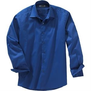 S- X L - Men's Ls Spread Collar Dress Shirt