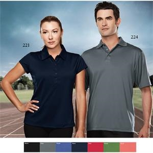 California Performance (tm) - 4 X L - Women's 6 Oz 100% Polyester Golf Shirt
