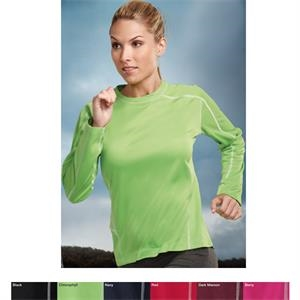 Lady Fulcrum Performance (tm) -  X S- X L - Women's Long Sleeve Shirt Featuring Ultracool (r) Moisture Wicking Technology
