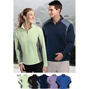 Dash Performance (tm) - 3 X L - Women's 6 Oz 100% Polyester 1/4 Zip Pullover Shirt