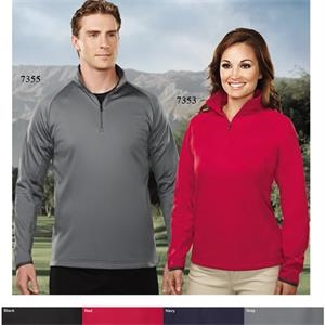 Performance (tm) Lady Neptune - 4 X L - Women's Lightweight Moisture Wicking 1/4-zip Pullover Shirt