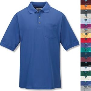 Signature Ltd - 3 X L - Men's Golf Shirt With Pocket And Three Horn Buttons