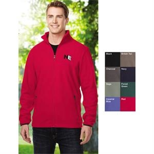 Alpine - 4 X Lt - Men's Midweight 100% Polyester Anti-pilling Micro Fleece Jacket