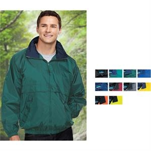 Highland - 6 X L - Jacket With Raglan Sleeves And Contrasting Collar Trim