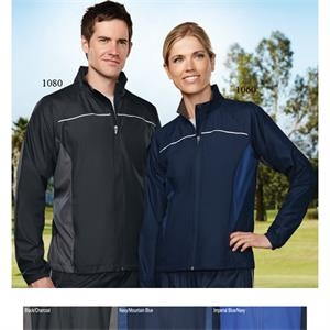 Sprint - S- X L - Men's Sporty Lightweight Jacket With Reflective Trim And Contrast Panels