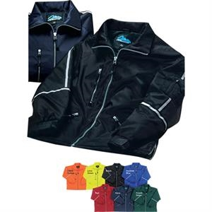 Courier - 3 X Lt - Jacket With Reflective Stripe Tape And Two Front Double-entry Pockets
