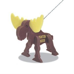 Moose on a Leash