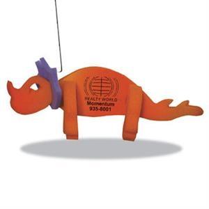 Trixy Dinosaur on a Leash