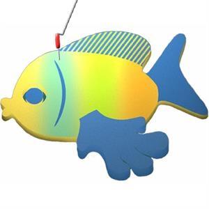 Tropical Fish on a Leash